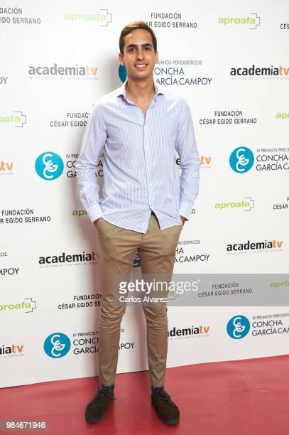 Lorenzo Diaz Garcia attends the Concha Garcia Campoy awards 2018 on June 26 2018 in Madrid Spain