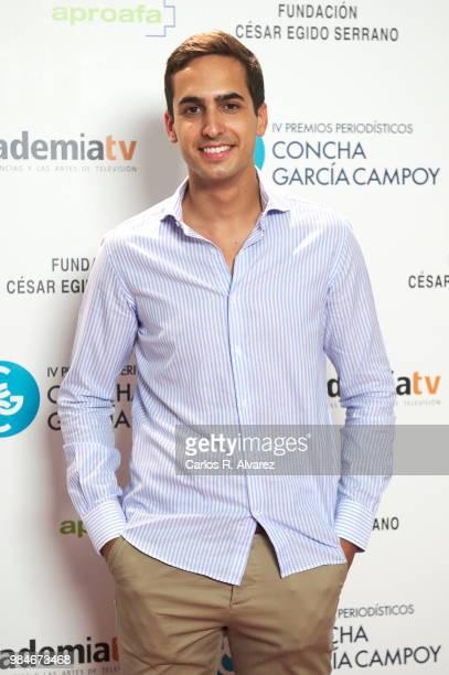 Lorenzo Diaz Garcia attends the Concha Garcia Campoy awards 2018 on June 26, 2018 in Madrid, Spain.