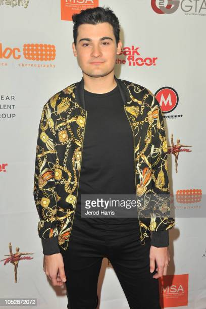 Lorenzo Doryon attends the 8th Annual World Choreography Awards at the Saban Theatre on October 23 2018 in Beverly Hills California