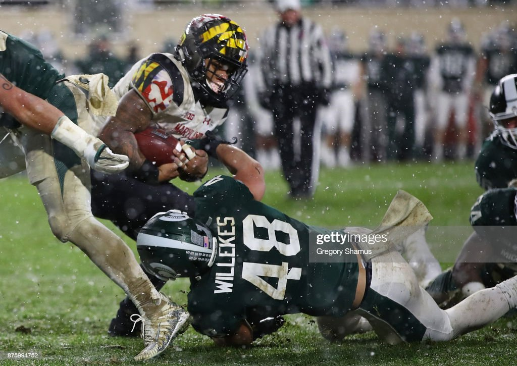 Maryland v Michigan State : News Photo