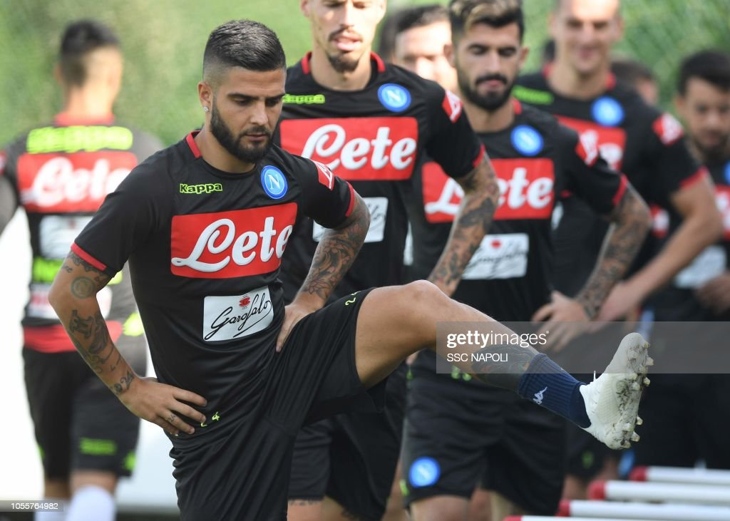 SSC Napoli Training Session : News Photo