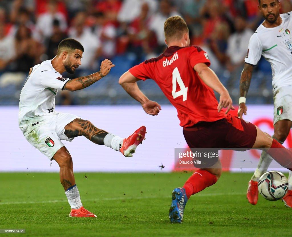 Switzerland v Italy - 2022 FIFA World Cup Qualifier : News Photo