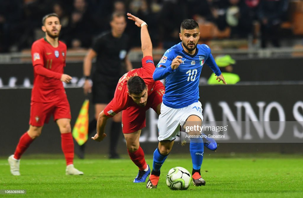 Italia contro Portogallo - UEFA Nations League A