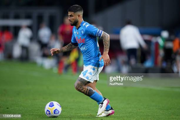 Lorenzo Insigne of SSC Napoli during the Serie A match between SSC Napoli and Hellas Verona at Stadio Diego Armando Maradona, Naples, Italy on 23 May...