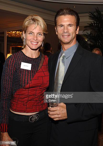 Lorenzo Lamas and guest during Newt Gingrich Speaks at the Beverly Hills Hotel - October 25, 2005 at Beverly Hills Hotel in Beverly Hills,...