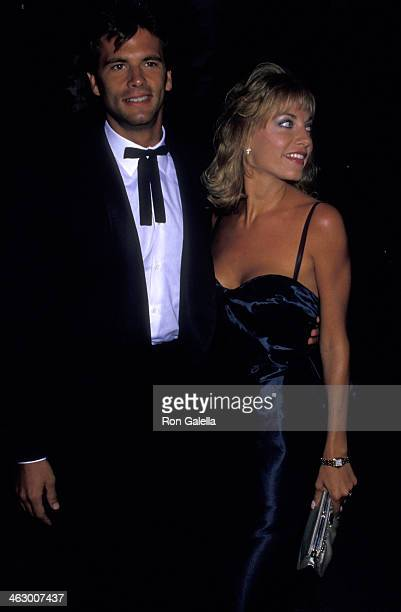 af4fc72d800bb Lorenzo Lamas and Robin Greer attend American Cinema Awards on August 22  1987 at the Century