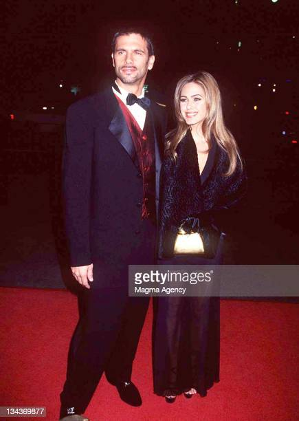 Lorenzo Lamas and wife Shauna Sand Lamas during 26th Annual Nosotros Golden Eagle Awards at Los Angeles in Los Angeles CA United States