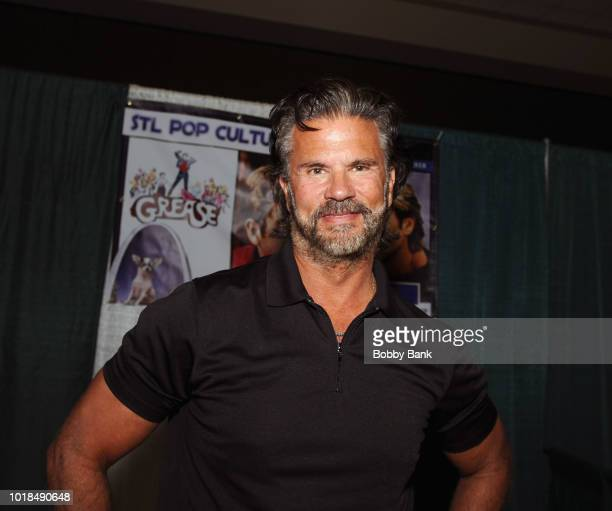 Lorenzo Lamas attends the 2018 STL Pop Culture Con at St Charles Convention Center on August 17 2018 in St Charles Missouri