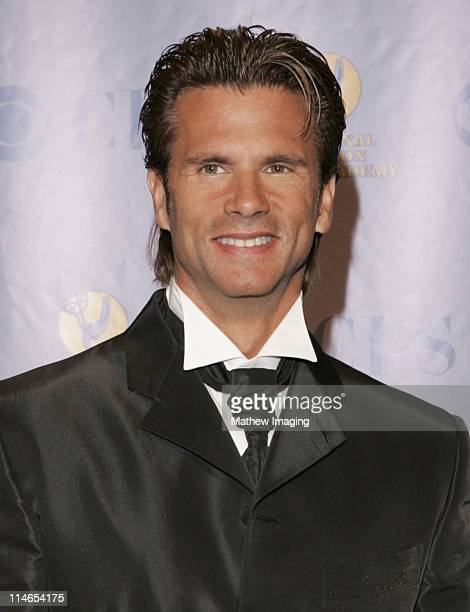 Lorenzo Lamas during 32nd Annual Daytime Emmy Awards - Press Room at Radio City Music Hall in New York City, New York, United States.