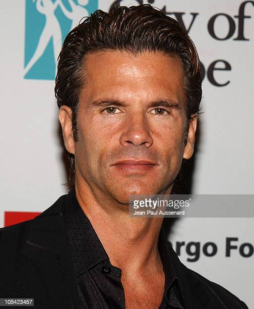 Lorenzo Lamas during City of Hope 2005 Award of Hope Gala Arrivals at Beverly Hilton Hotel in Beverly Hills California United States