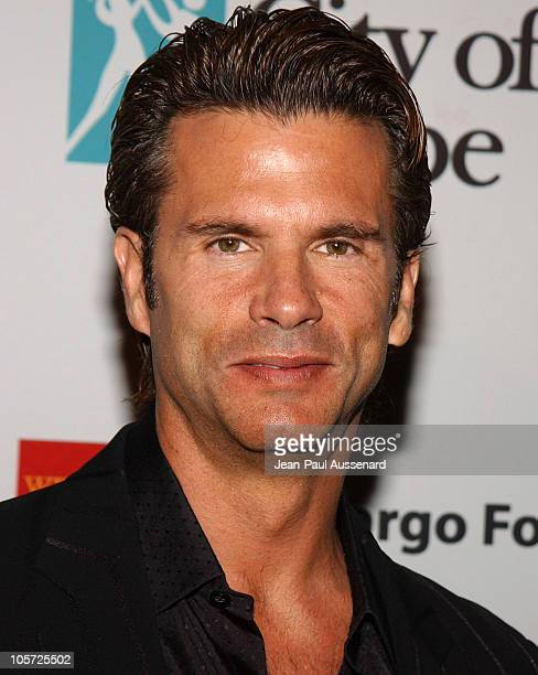 Lorenzo Lamas during City of Hope 2005 Award of Hope Gala - Arrivals at Beverly Hilton Hotel in Beverly Hills, California, United States.