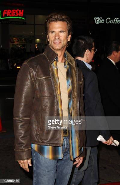 Lorenzo Lamas during Firewall Los Angeles Premiere Arrivals at Grauman's Chinese Theatre in Los Angeles California United States