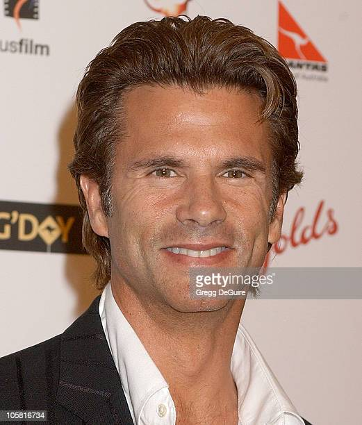 Lorenzo Lamas during G'Day LA: Australia Week 2006 - Penfolds Icon Gala Dinner - Arrivals in Los Angelees, California, United States.