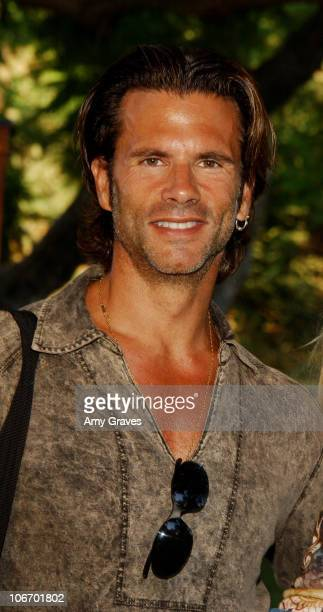 """Lorenzo Lamas during New Line Home Entertainment and Tree People Celebrate the DVD and VHS Release of """"The Lord Of The Rings: The Two Towers"""" at..."""
