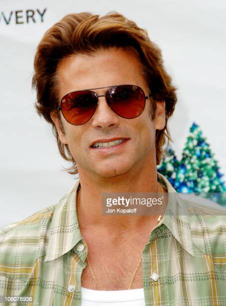 Lorenzo Lamas during NRDC's Day Of Discovery - Arrivals at Wadsworth Theater Grounds in Brentwood, California, United States.