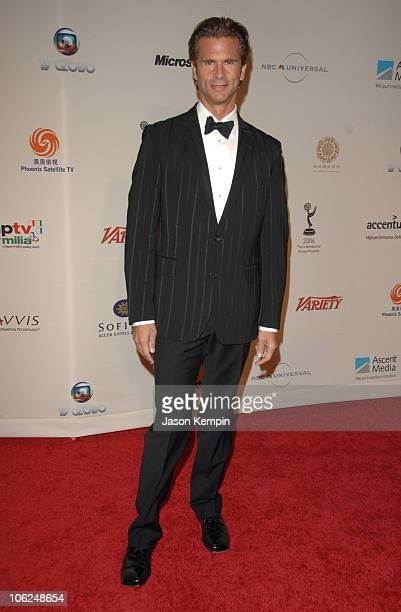 Lorenzo Lamas during The 34th International Emmy Awards Gala Arrivals November 20 2006 at The New York Hilton in New York City New York United States
