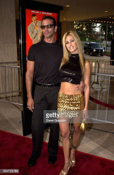 Lorenzo Lamas Shauna Sand during Two Can Play That Game Premiere at Cineplex Odeon Century Plaza Cinema in Century City California United States