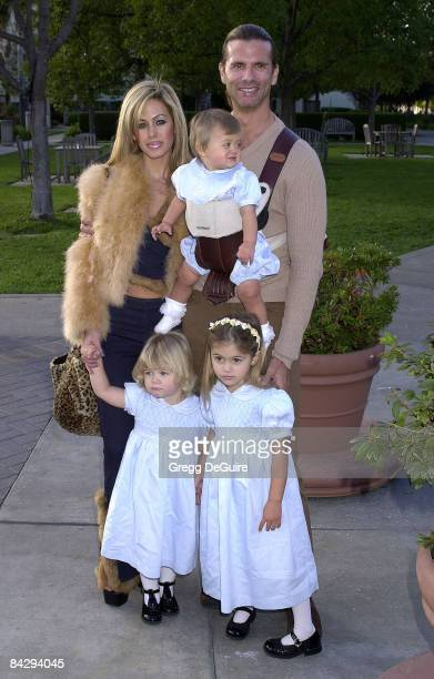 Lorenzo Lamas wife Shauna Sand and daughters