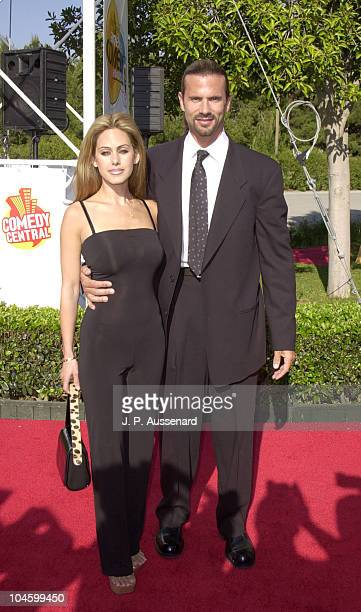 Lorenzo Lamas wife Shauna Sand during 2001 American Comedy Awards at Universal Studios in Universal City California United States