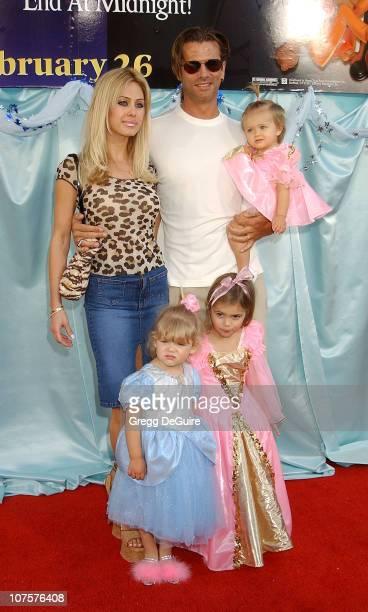 Lorenzo Lamas, wife Shauna Sand, & kids Victoria, Alexandra & Isabella