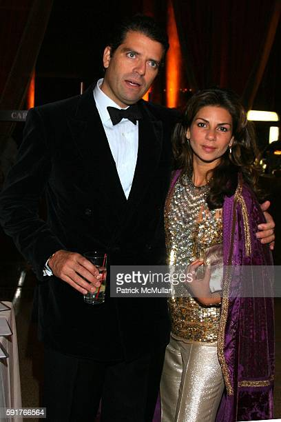 Lorenzo Lorenzotti and Eva Lorenzotti attend Aid For Aids Hosts Annual MY HERO Award and Gala at Capitale on November 3 2005 in New York City