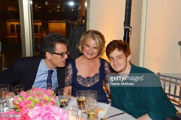 Lorenzo Lorenzotti Olivia Flatto and Aaron Wolff attend Juilliard Spring 2019 Gala at Peter Jay Sharp Theater on May 1 2019 in New York
