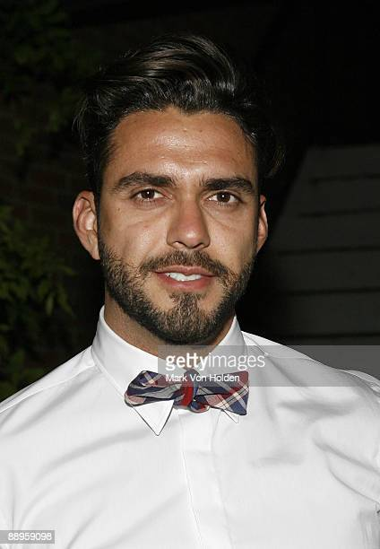 Lorenzo Martone attends an after party following a screening of '500 Days Of Summer' hosted by The Cinema Society with Brooks Brothers and Cotton at...