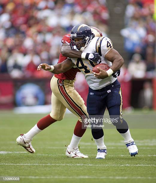 San Diego Chargers Cardinals: Lorenzo Neal Stock Photos And Pictures