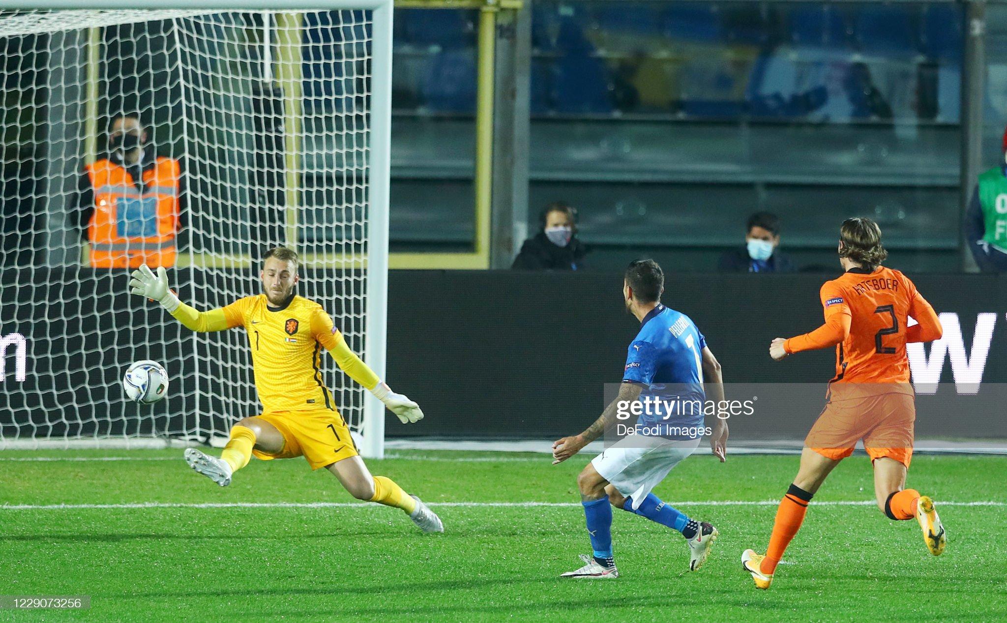 Italy v Netherlands - UEFA Nations League : News Photo