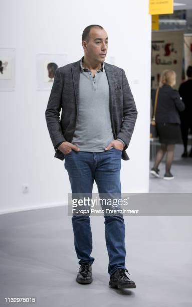 Lorenzo Quinn attends ARCO Art Fair at Ifema on February 28 2019 in Madrid Spain