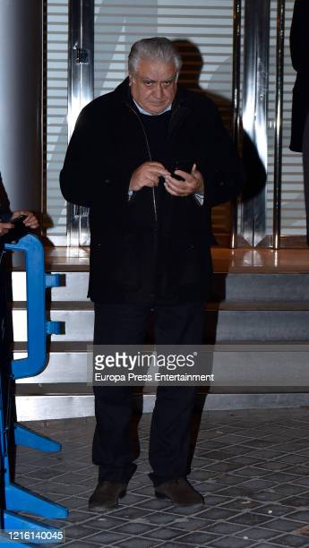 Lorenzo Sanz is seen on February 16 2020 in Madrid Spain