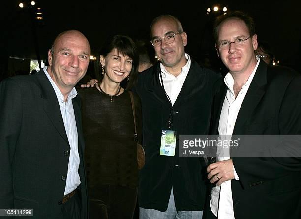 Lorenzo Soria, Ruth Vitale, Jon Kamen and Albert Berger