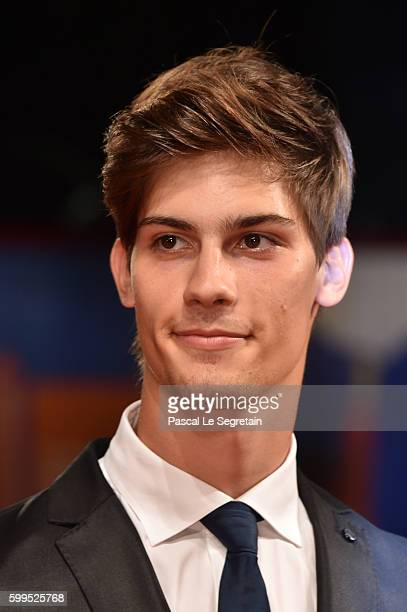 Lorenzo Tano attends the premiere of 'Rocco' during the 73rd Venice Film Festival at Sala Perla on September 5 2016 in Venice Italy