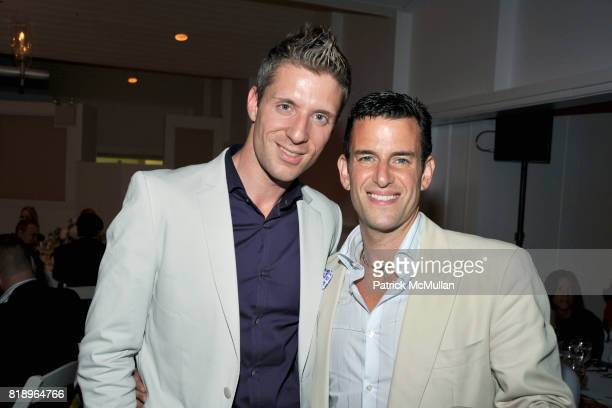 Lorenzo Thione and Ian Reisner attend MIRACLE HOUSE 20th Anniversary Memorial Day Summer Kickoff Benefit honoring Amy Chanos and Jim Chanos at...