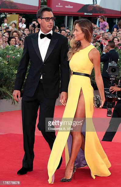 Lorenzo Tonetti and Natalia Borges attend 'Gravity' Premiere and Opening Ceremony during the 70th Venice International Film Festival at the Palazzo...