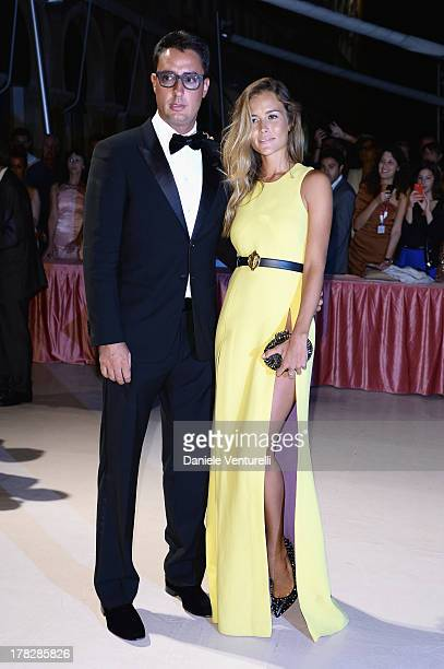 Lorenzo Tonetti and Natalia Borges attends the Opening Ceremony during The 70th Venice International Film Festival on August 28 2013 in Venice Italy