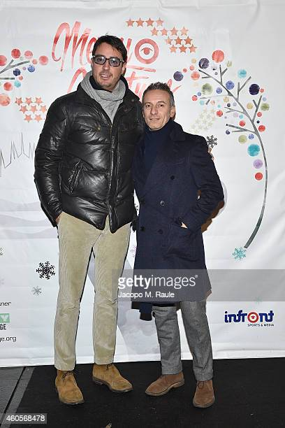 Lorenzo Tonetti attends Infront Christmas Party on December 16 2014 in Milan Italy