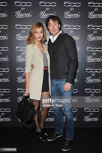 Lorenzo Tonetto attends 500 by Gucci Short Film Collection cocktail party on April 16 2012 in Milan Italy