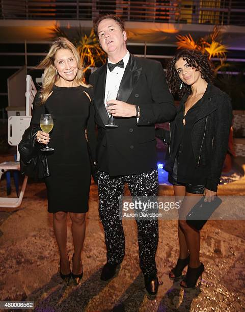 Loreta Papaleo and Clifford Wirght attend Sara Von Kienegger and Art of Elysium Host Los Angeles Gallery MAMA's Presentation Of Ryan Heffington's...