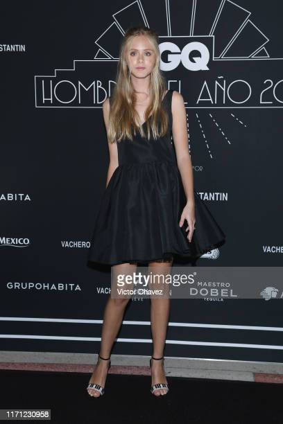 Loreto Peralta attends the black carpet of the GQ Hombres del Año 2019 at Fronton Mexico on September 25 2019 in Mexico City Mexico