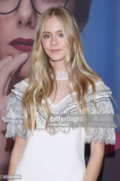 Loreto Peralta attends the Perfectos Desconocidos Mexico City premiere at Cinepolis Diana on December 13 2018 in Mexico City Mexico