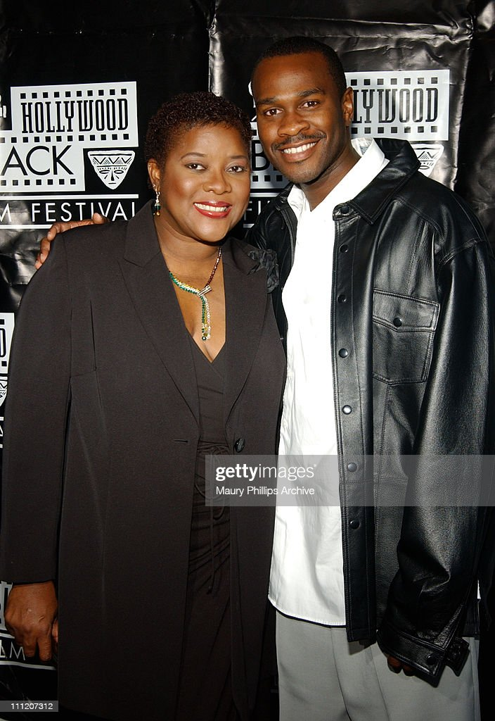 Loretta Devine and Brian Hooks during World Premiere of Acclaimed Actor- Filmmaker Tim Reid's 'For Real' to Open 5th Anniversary Hollywood Black Film Festival at The Harmony Gold Preview House in Hollywood, California, United States.