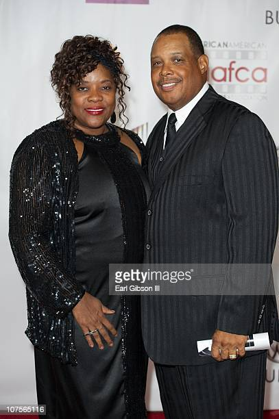 Loretta Devine and Glenn Marshall appear on the red carpet for the 2nd Annual AAFCA Awards on December 13 2010 in Los Angeles California