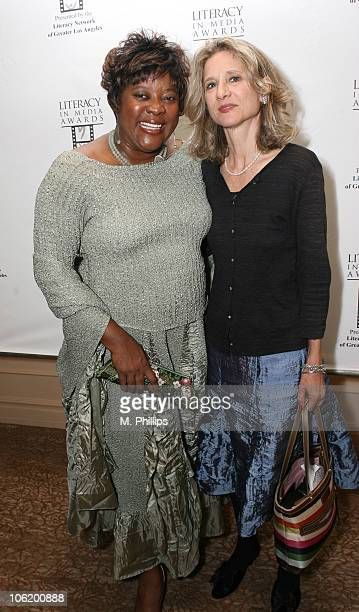 Loretta Devine and Libby Beers during Literacy In Media Awards at The Beverly Hilton Hotel in Beverly Hills, CA, United States.