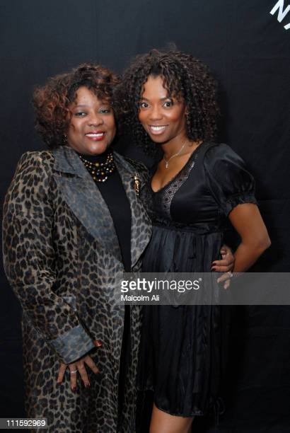 Loretta Devine and Vanessa Williams during 2007 NAACP Theater Nominations at Roosevelt in Hollywood, California, United States.