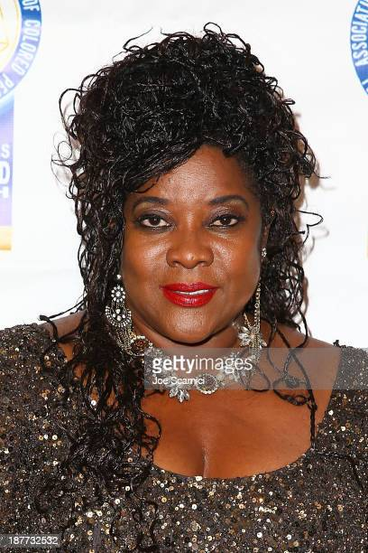 Loretta Devine arrives at the 23rd annual NAACP Theatre Awards at Saban Theatre on November 11 2013 in Beverly Hills California