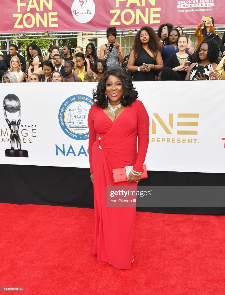 Loretta Devine at the 49th NAACP Image Awards on January 15, 2018 in Pasadena, California.