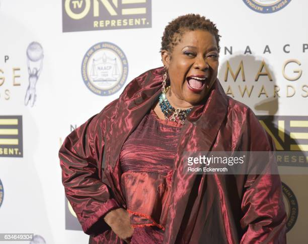 Loretta Devine attends 48th NAACP Image Dinner at Pasadena Convention Center on February 10, 2017 in Pasadena, California.