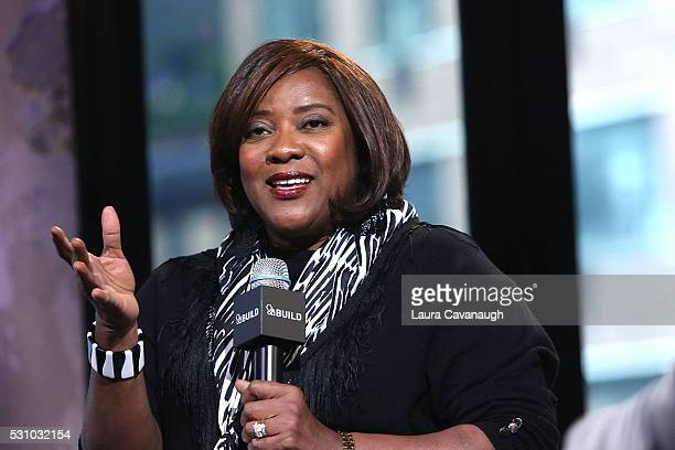 Loretta Devine attends AOL Build Speaker Series to discuss The Carmichael Show at AOL Studios In New York on May 12 2016 in New York City