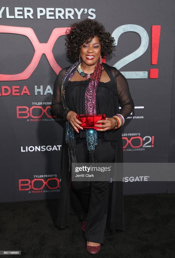 Loretta Devine attends premiere of Lionsgate's 'Tyler Perry's Boo 2! A Madea Halloween' at Regal LA Live Stadium 14 on October 16, 2017 in Los Angeles, California.